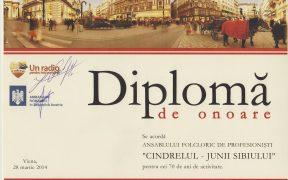 Junii Sibiului au ajuns la sufletele românilor din Viena