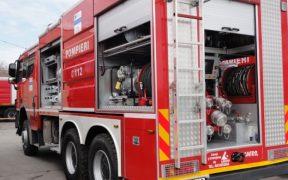 Pompierii civili din judeţul Sibiu s-au întrecut în aptitudinile practice