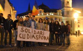 Protest faţă de modul de desfășurare al alegerilor din diaspora