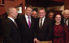 Klaus Iohannis întâlnire cu membrii noului PNL, la restaurantul Hermania
