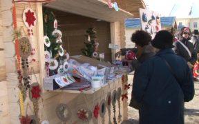 Târgul de Crăciun s-a deschis la Mediaș