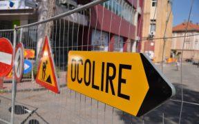 Strada Cărămidăriei închisă traficului pentru noi lucrări la viaductul Mihail Kogălniceanu – Calea Şurii Mici