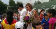 Carmen Iohannis prezentă la Sibiu Open 2015