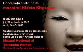 Maestrul japonez Hideta KITAZAWA vine la Sibiu