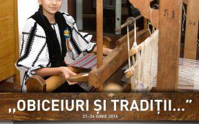 """Festivalul ,,Obiceiuri și Tradiții…""""și-a deschis porțile"""