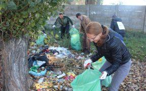 Consiliului Judeţean Sibiu a participat la Ziua Naţională a Curăţeniei