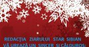 Redacţia Ziarului Star Sibian vă urează un sincer şi călduros: La mulţi ani!