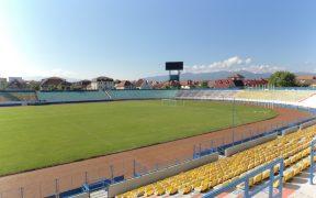 Stadionul Municipal Sibiu va avea un sistem de irigații automat