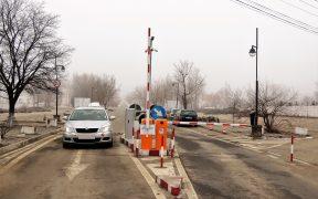 Accesul auto în incinta Cimitirului Municipal Sibiu este ordonat printr-un sistem electronic