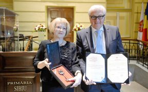Noul președinte al Germaniei este cetățean de onoare al Sibiului