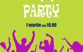 Mărțișor Party în Căminele Studențești