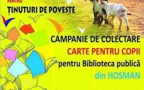 Campanie de strângere de carte pentru o nouă bibliotecă publică înființată în satul Hosman