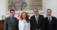 Ambasadorul Elveției a discutat cu conducerea Consiliului Județean Sibiu oportunitățile de investiții elvețiene în județ