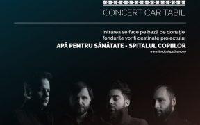 """Trupa DOMINO concertează în sprijinul proiectului """"Apă pentru sănătate"""""""
