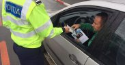 Acțiuni ale polițiștilor rutieri în județul Sibiu