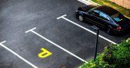 Noi spații de parcare în cartierul Valea Aurie