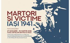 """Expoziția """"Martori și victime, Iași 1941"""" la Muzeul Astra"""