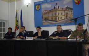 Județul Sibiu sub cod PORTOCALIU de inundații
