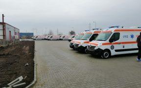 Primele ambulanțe noi ajung la Sibiu