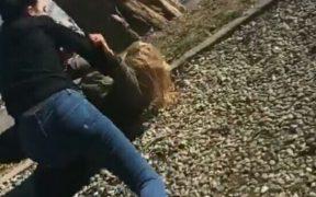 VIDEO: Bătaie între liceence la Sibiu
