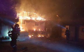 Update: Incendiu la o locuință din Tălmaciu 2