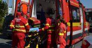 Un pieton băut bine a fost lovit de o mașină pe o trecere de pietoni din Sibiu