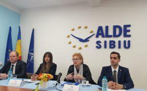 ALDE: Renate Weber la Sibiu