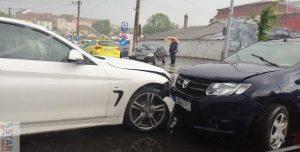 Accident în lanţ pe Coposu