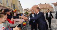VIDEO: Cum au văzut sibienii liderii Europei