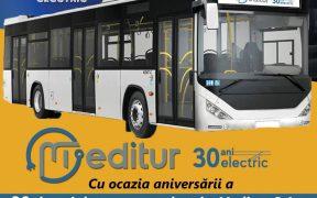 30 de ani de transport electric la Mediaș