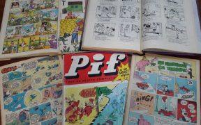 Expoziție de benzi desenate la Biblioteca Astra