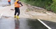 FOTO/VIDEO: Inundaţii la Apoldu de Sus