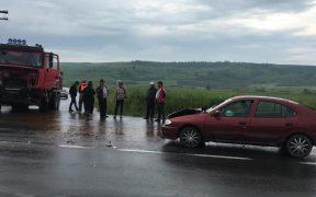 Doi copii și mama lor au ajuns de urgență la spital din cauza unui accident auto