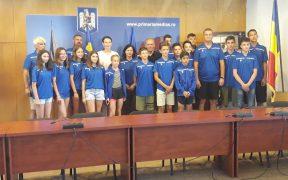 Delegație sportivă din Mediaș la Jocurile Internaționale ale Copiilor