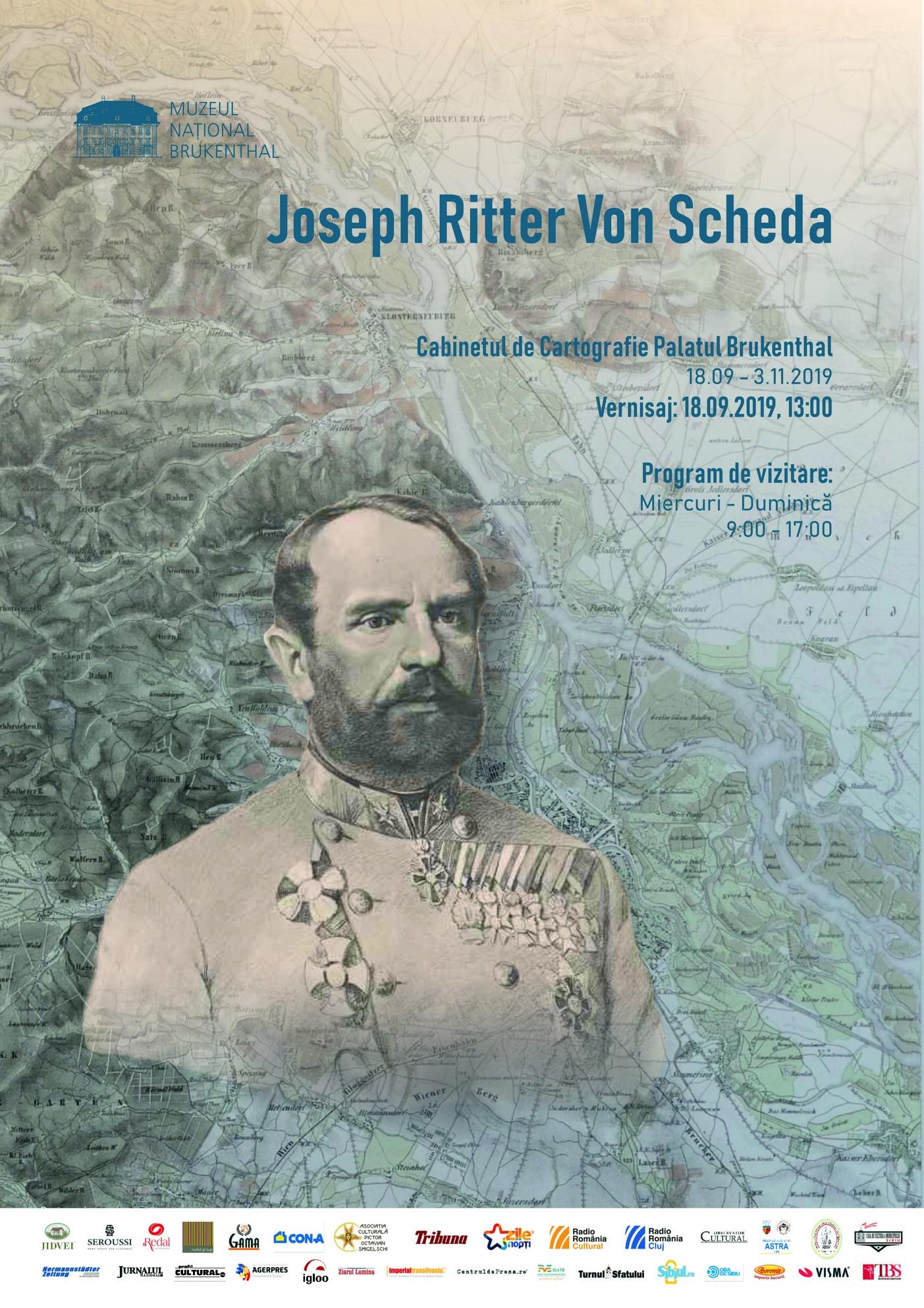 Expoziție la Brukenthal: Joseph Ritter von Scheda