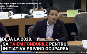 VIDEO: Sibianul Nicu Ştefănuţă luptă contra tăierilor bugetare în Parlamentul European