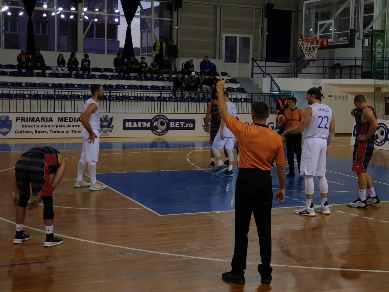 CSM Mediaș se califică în faza a doua a Cupei României