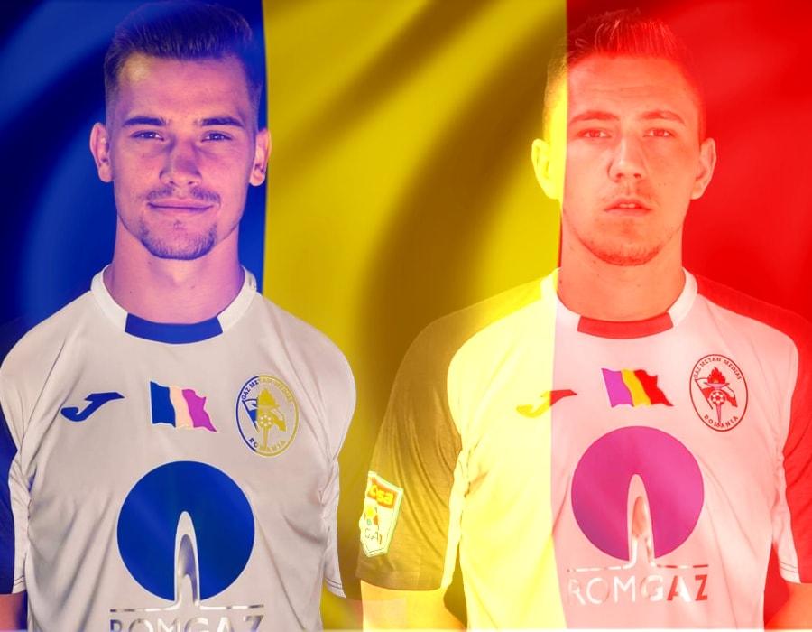 Medieșenii Darius Olaru și Mihai Velisar, convocați în lotul echipei naționale de tineret