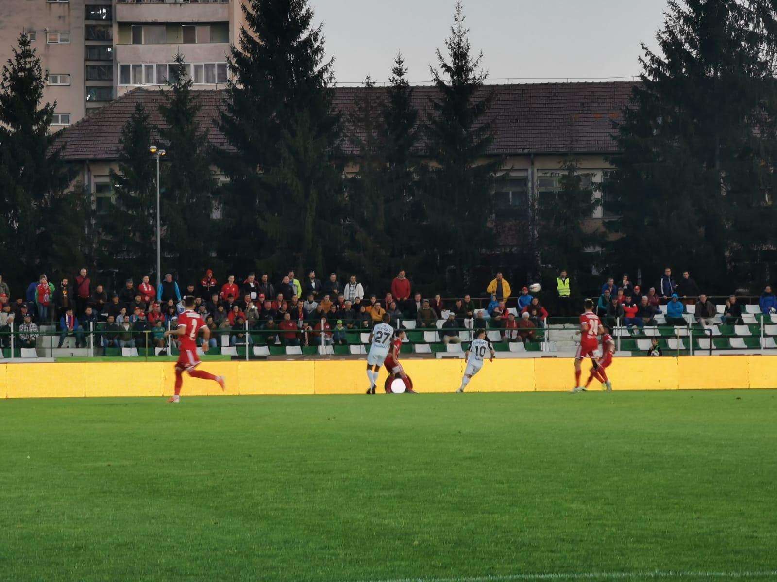 Darius Olaru, omul meciului în partida câștigată de medieșeni cu Sepsi Sfântu Gheorghe