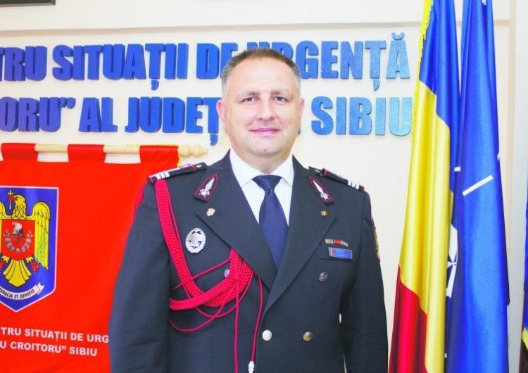 Cosmin Balcu, viitorul preşedinte al Consiliului Judeţean Sibiu: De la salvarea oamenilor şi bunurilor din incendii, inundaţii şi accidente, la Administraţia judeţului Sibiu