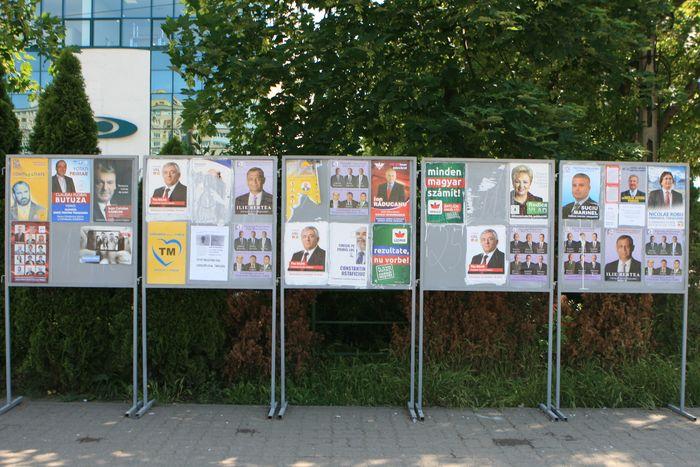 Primaria sancționată din cauza lipsei locurilor de afișaj electoral