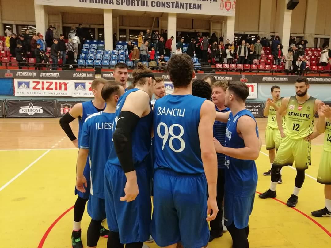 CSM Mediaș a dominat partida în duelul cu ABC Athletic Constanța