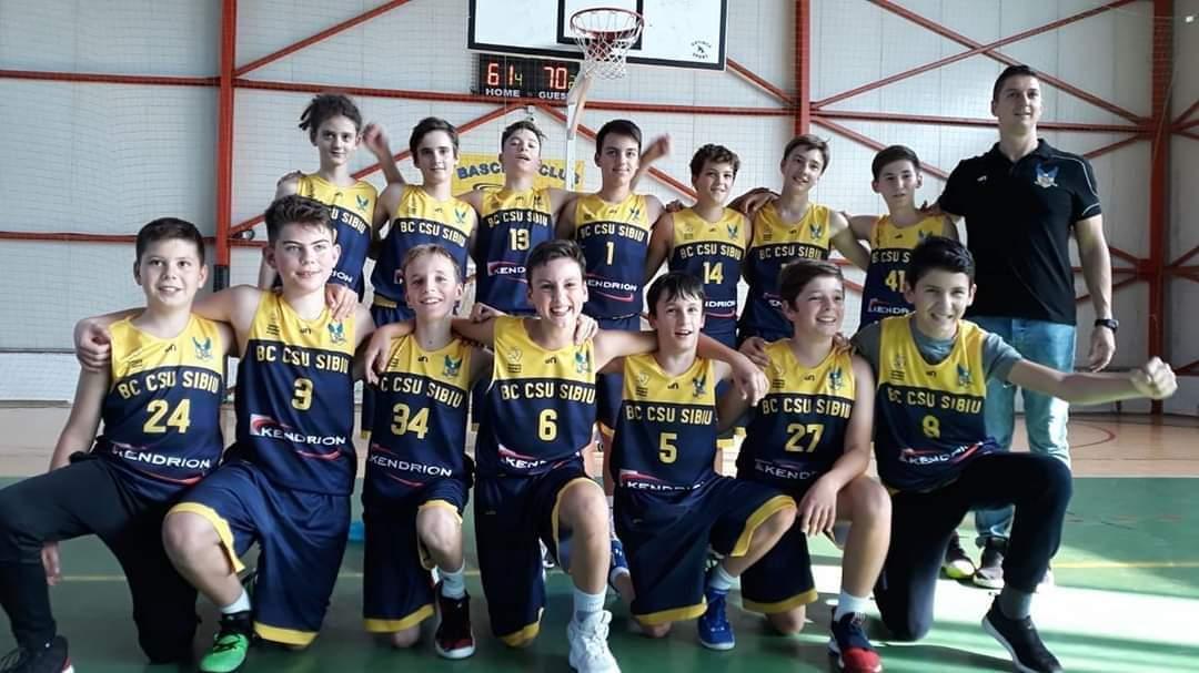 Juniorii BC CSU Sibiu reintră în focurile competițiilor