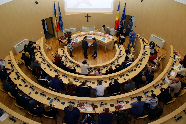 Elitele sportului sibian, premiate de Consiliul Județean Sibiu