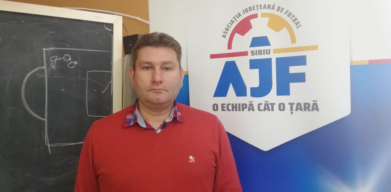 Ioan Duma, noul președinte al Asociaţiei Judeţene de Fotbal Sibiu