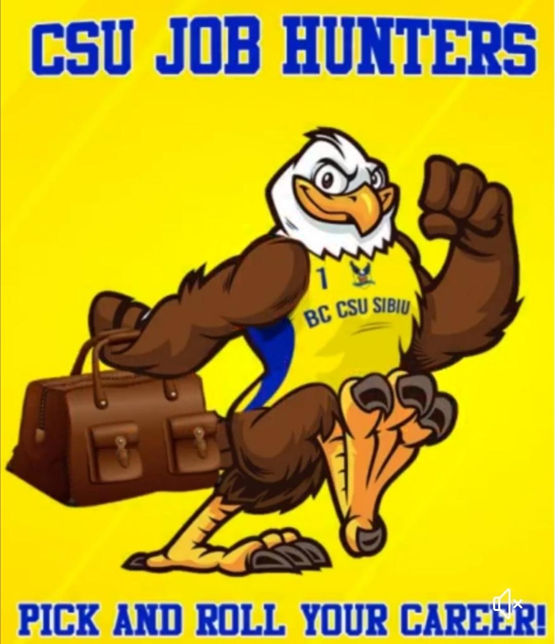 Concurs pentru suporteri: CSU JOB HUNTERS- Pick and roll your career