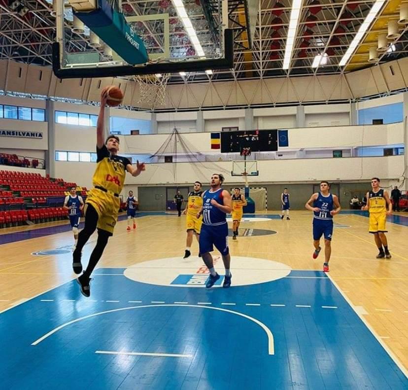Juniorii lui BC CSU Sibiu, duel cu CSO Voluntari