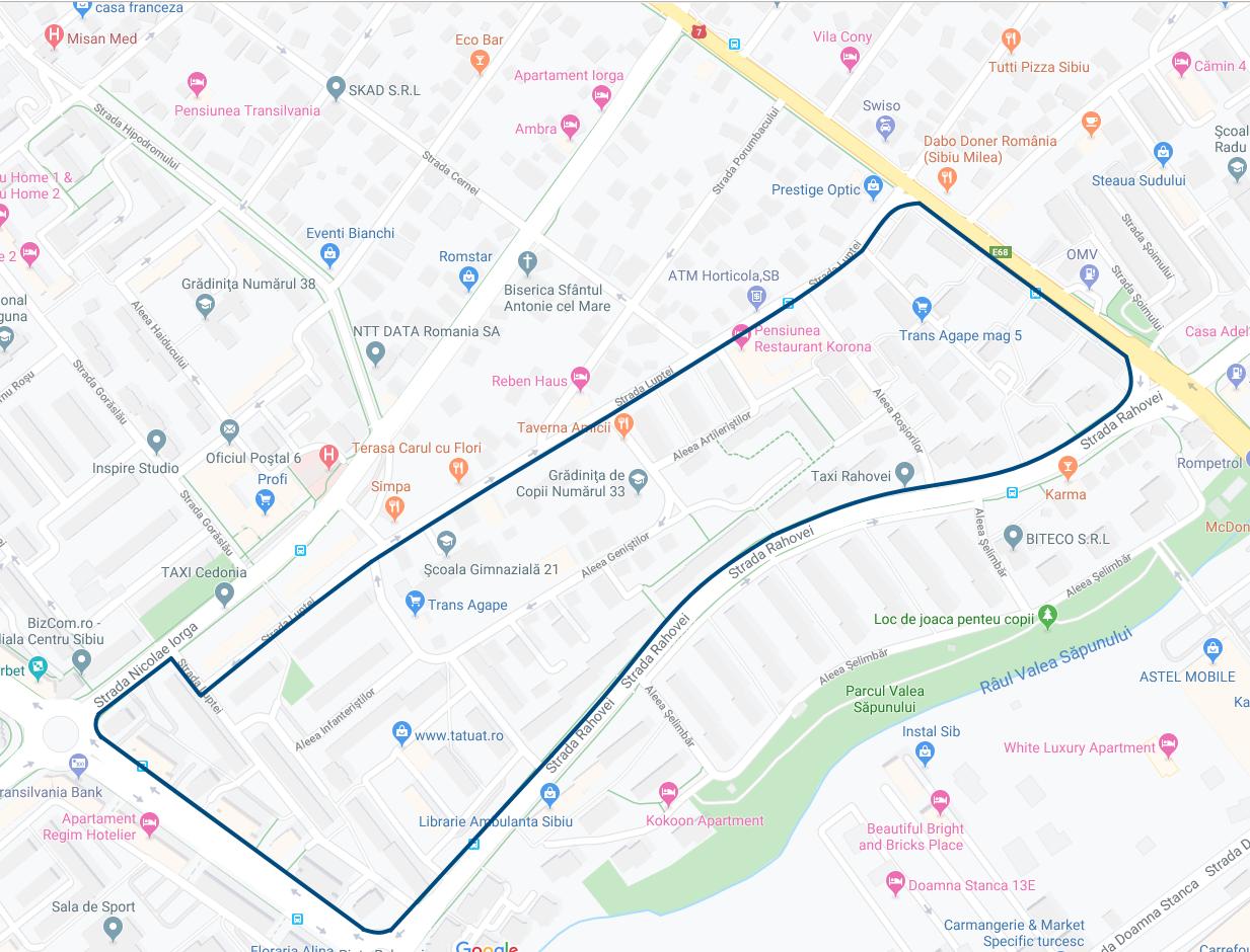 Lucrări pentru  amenajarea parcării din Valea Aurie și modernizare a unei noi zone de blocuri din cartierul Hipodrom