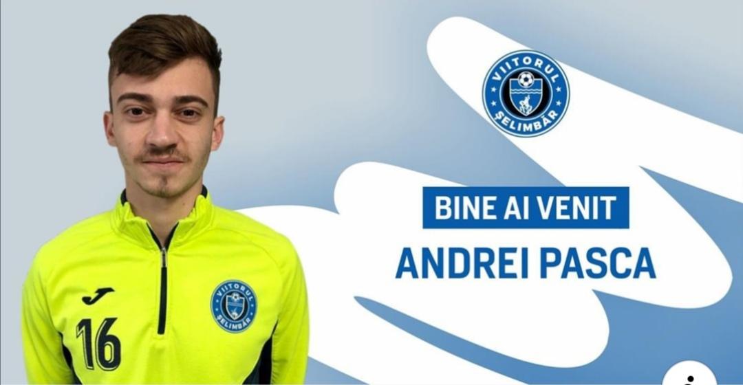 Andrei Pașca, ultima achiziție a echipei Viitorul Șelimbăr