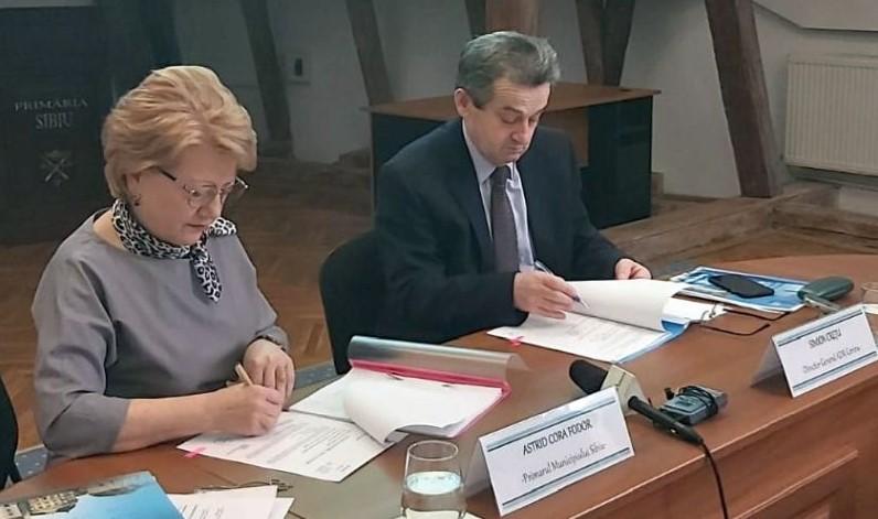 """""""Linia verde Sibiu"""" - proiectul ce vizează reducerea poluării în zona centrală"""